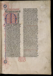 Historiated Initial, In Thomas Netter's 'Doctrine Of The Faith'